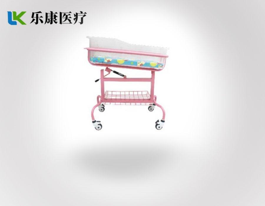 A24   彩色可倾斜婴儿床   (可选不锈钢)