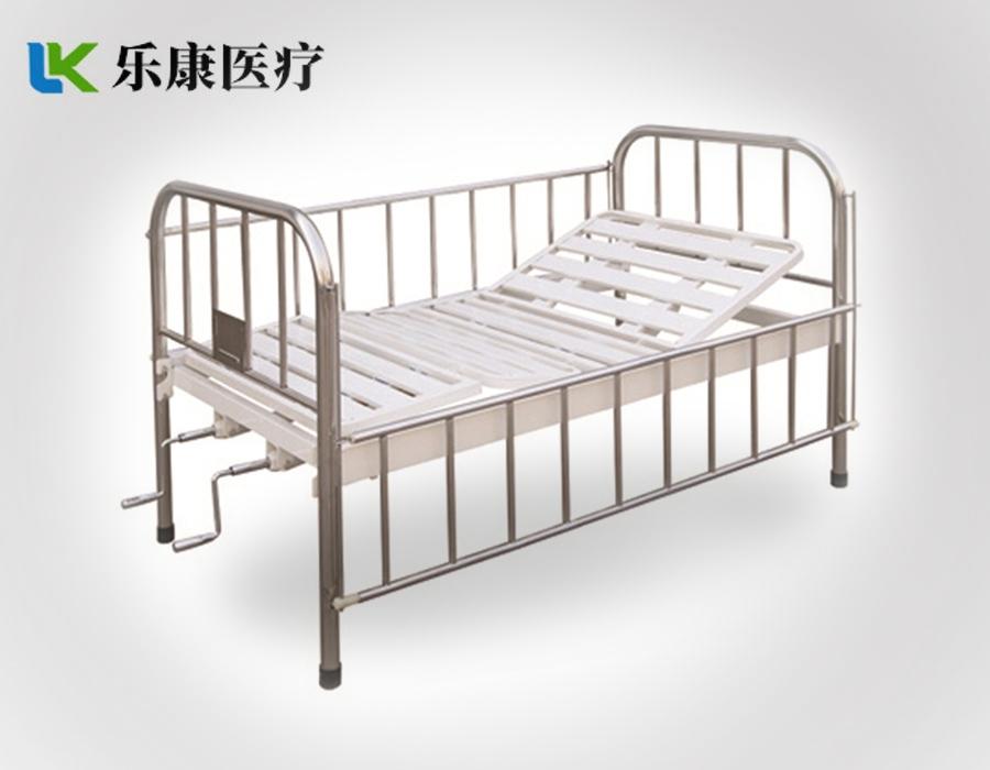 A18 不锈钢床头护栏儿童双摇床