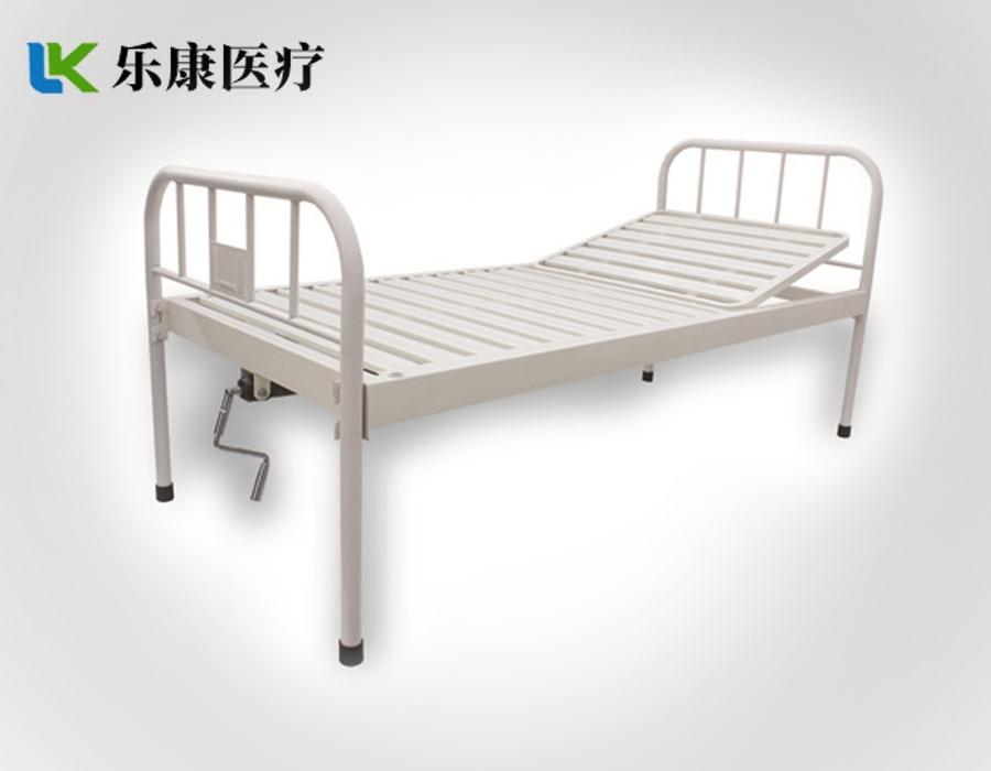 A14 钢质床头条式单摇床