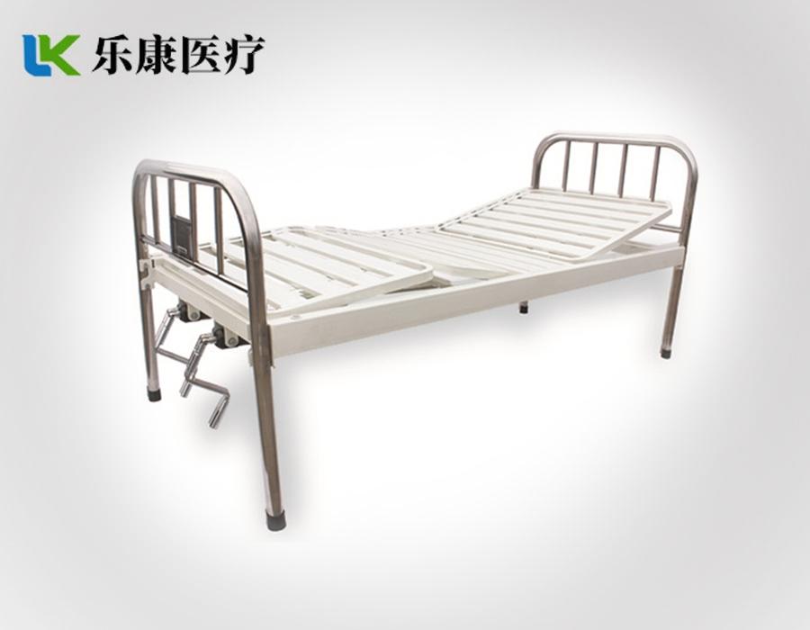 A11 不锈钢床头条式双摇床