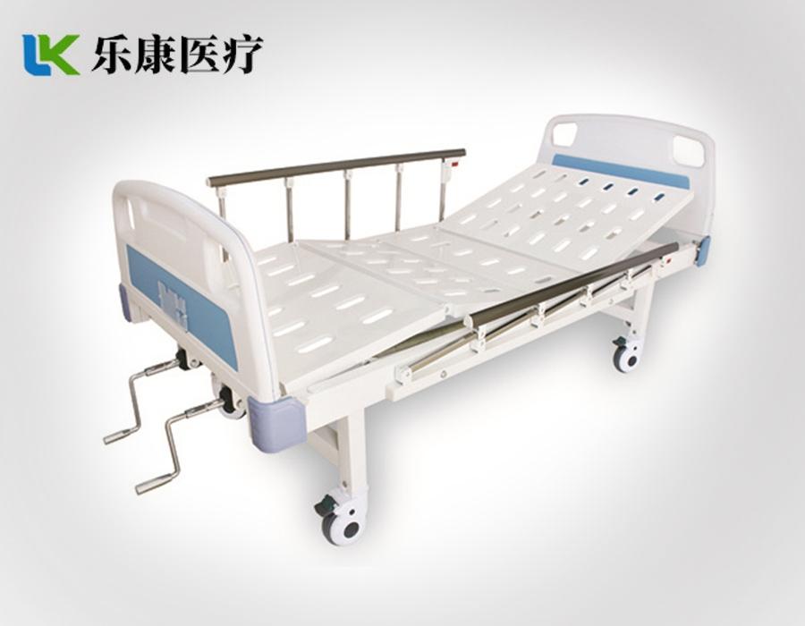 A5 ABS挂式床头冲孔双摇床